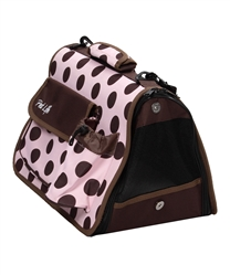 Airline Approved Fashion Pet Carrier With Built In Pouch And Water Bottle Holder