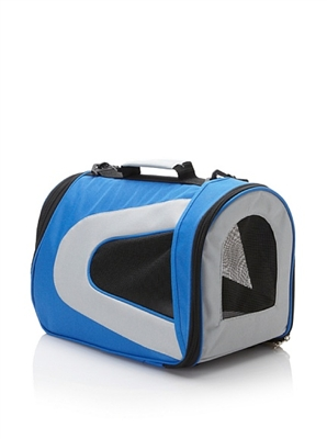Blue  Airline Approved  'Sporty' Pet Dog Carrier
