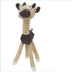 Natural Jute Rope Giraffe Pet Dog Toy