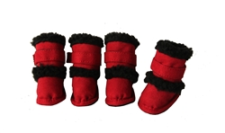 Red 3M Thinsulate Duggz  Shoes