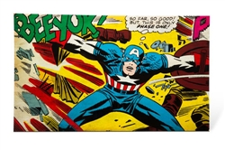 Marvel™ Captain America Background 10 gallon (12x20)