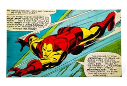 Marvel™ Iron Man Background 30 gallon (19 1/4 x 31 1/2)