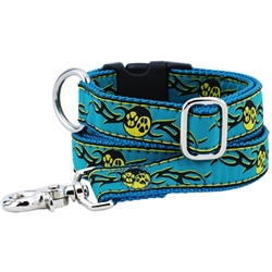 Paw Yang Teal Essential Collars and Leads