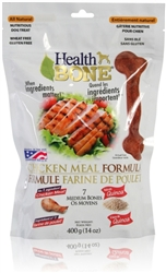 Health Bone Chicken Formula All Natural - Medium Bones 14 oz.