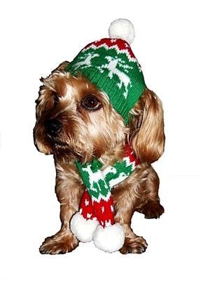 Reindeer Hat/ Scarf  (scarf has fringe)