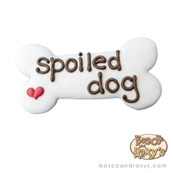"""Spoiled Dog"" 6"" Bone, 10/Case - MSRP $4.99"