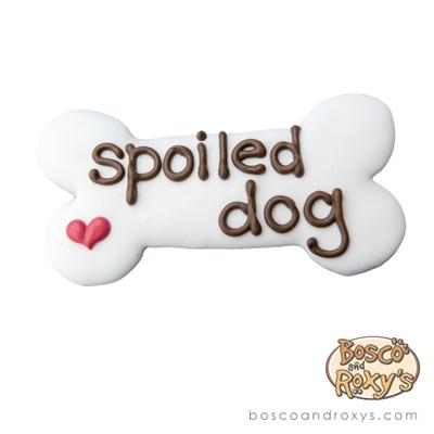 """""""Spoiled Dog"""" 6"""" Bone, 10/Case - MSRP $4.99"""