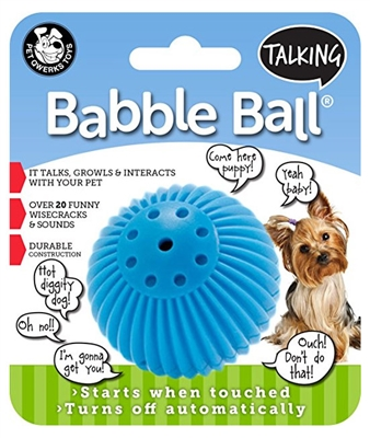 Small Dog Talking Babble Ball