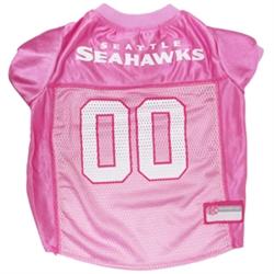 NFL Seattle Seahawks Dog Jerseys Pink
