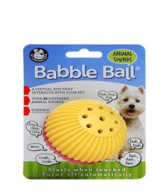 Small Dog Animal Sounds Babble Ball