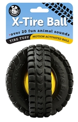 "5"" Animal Sounds X-Tire Ball"