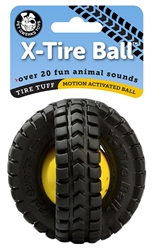 "3.5"" Animal Sounds X-Tire Ball"