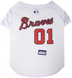 Atlanta Braves Dog Jersey