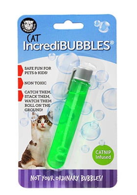 Cat IncrediBubbles with Catnip Infused