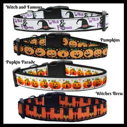 Halloween Collection Nylon Ribbon Collar & Leash