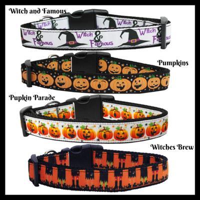 Halloween Collection Nylon Ribbon Collar & Leash