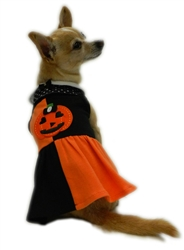 Halloween Patchwork Dress by Ruff Ruff Couture®
