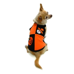 Halloween Patchwork Tank by Ruff Ruff Couture®