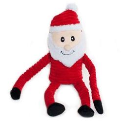 Holiday Crinkle Santa