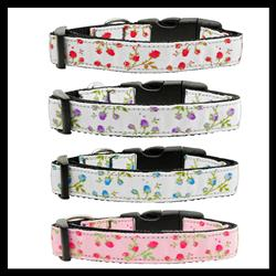 Rose Collection Nylon Ribbon Collars & Leads
