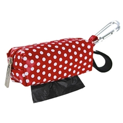 Duffel - Red w/White Dots w/1 Roll