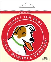 Jack Russell Terrier - Car Magnet