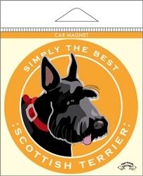 Scottish Terrier - Car Magnet