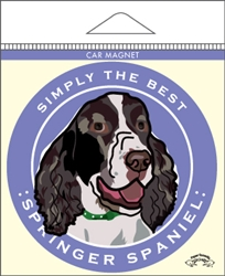 Springer Spaniel - Car Magnet