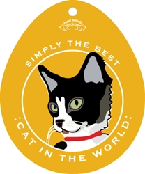 Cat in the World - Sticker
