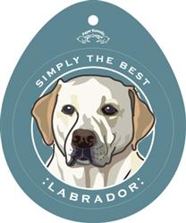 Labrador, Yellow - Sticker