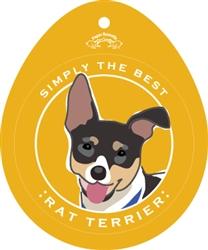 Rat Terrier - Sticker