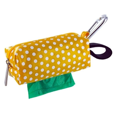 Duffel - Yellow Dots w/1 Roll