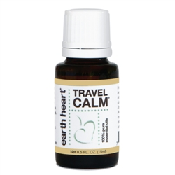 15ml Travel Calm Essential Oil Blend for Diffusers by Earth Heart Inc.