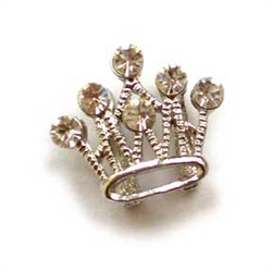 Rhinestone Crown - Pack of 5
