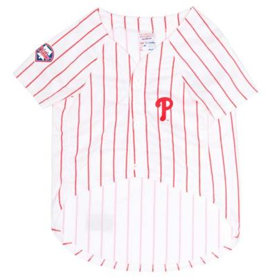 Philadelphia Phillies Dog Jersey - w/red stripes