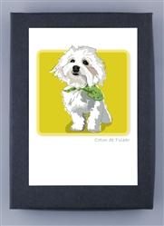 Cotton W/Bandana - Grrreen Boxed Note Cards