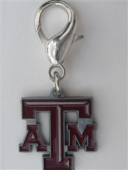 Texas A and M Aggies Dog Collar Charm