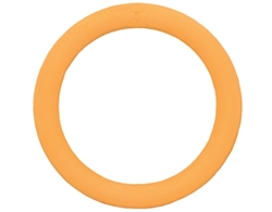 """Rubb N Roll 6"""" Ring toy - Orange"""