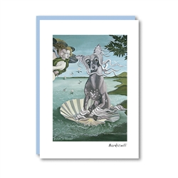 Barkicelli Chinese Crested Note Card