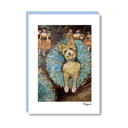 Dogas Yorkie Note Card