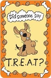 "Crunch Card - ""Did Someone Say T..R.E.A.T."""