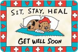 Crunch Card - Get Well