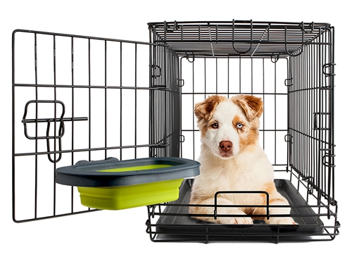 Large - Collapsible Kennel Bowl by Dexas