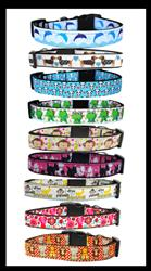 Animal Collection Nylon Ribbon Collars & Leads