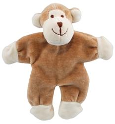 """Simply Fido - Beginnings Oscar  4"""" Stuffless Brown Monkey w/ Crinkle Paper"""