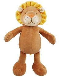 "Simply Fido - Leo Lion 10"" Organic Plush Toy w/ Squeaker"