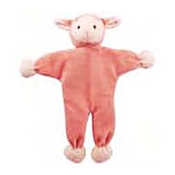"Simply Fido - Lolly 9"" Lamb - Stuffless Toy w/Crinkle"