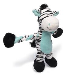 Pulleez Zany Zebra by Charming Pet