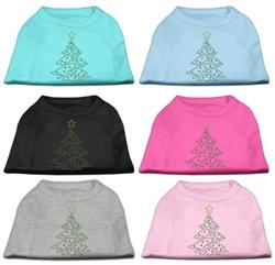 Christmas Tree Rhinestone Shirts
