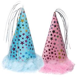 Charming Pet - Party Hats - Blue